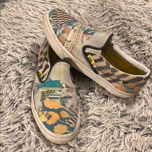 46ffef3cd2 Vans Shoes - The Beatles sea of monsters yellow submarine Vans